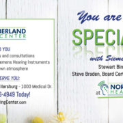Northumberland Hearing Center May Siemens Promotion Featured Image